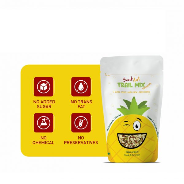 Trail Pineapple | 60g | Pack of 4