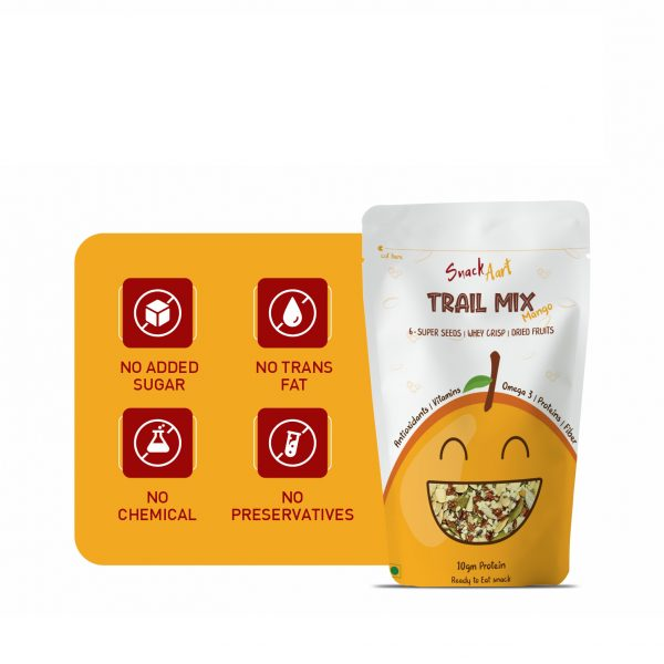 Healthy Protein Trail Mix | Combo Pack of 4, 220g