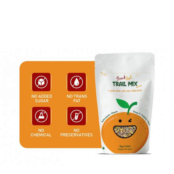 Trail Mix Orange | 50g | Pack of 4