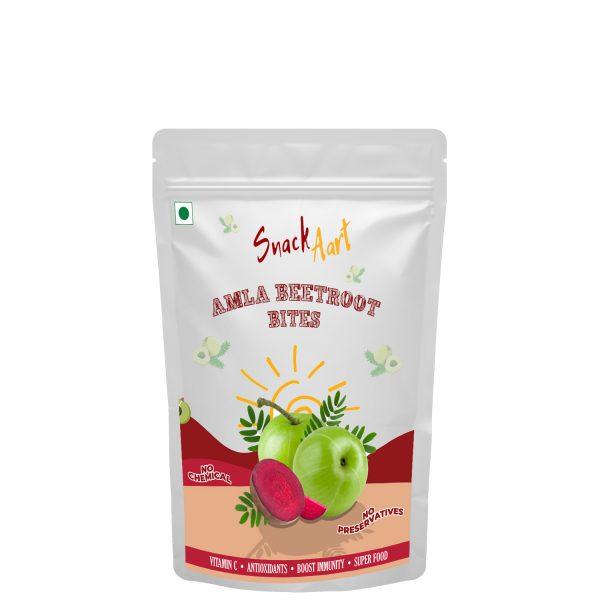 Amla Beetroot Bites | Sun-Dried Amla Candies | Pack of 4 X 90g