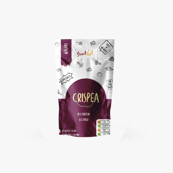 Crispea Wasabi | 36g | Pack of 5