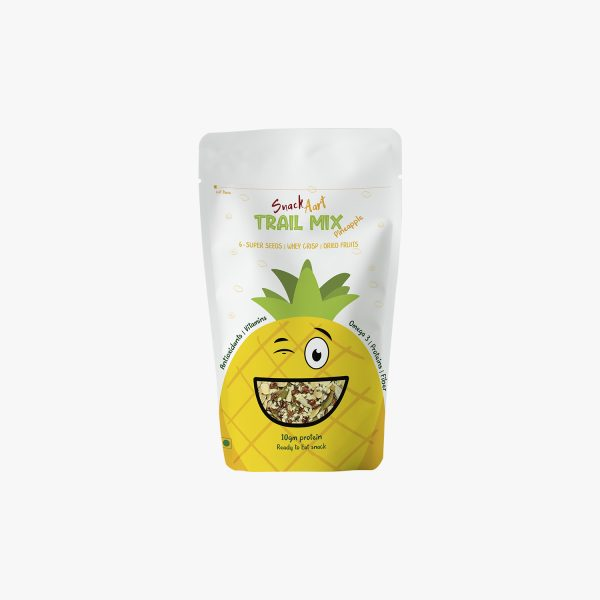 Healthy Protein Trail Mix-Pineapple    Pack of 4 X 60g