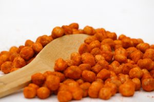 roasted chickpeas as work-from-home snack