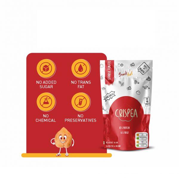 Crispea Spanish Tomato | 36g | Pack of 5