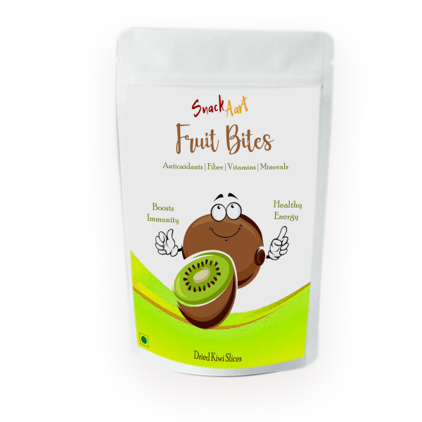 Fruit Bites-Dried Kiwi Slices   Pack of 2  100gms